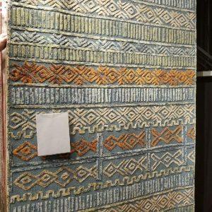 Capel, Zulu-Teal Rug, 5′ x 8′